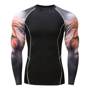 Alpha Lion Rash Guard - Canadian BJJ Shop