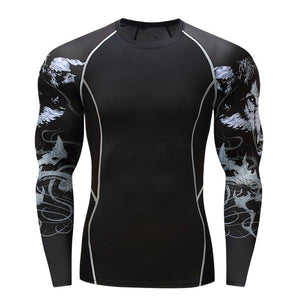 Mystic Wolf Rash Guard
