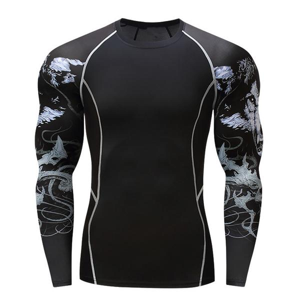 Mystic Wolf Rash Guard - Canadian BJJ Shop
