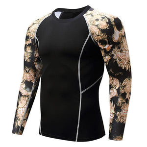 Gold Performance Rash Guard - Canadian BJJ Shop