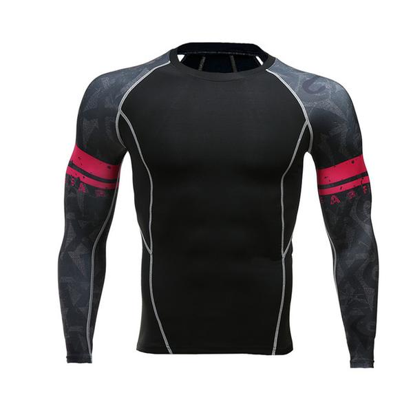 Red Band Performance Rash Guard - Canadian BJJ Shop