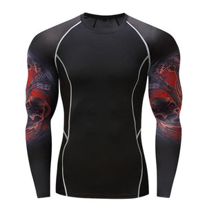 Deadly Hit Rash Guard - Canadian BJJ Shop