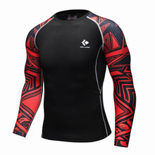 Red Tribal Rash Guard - Canadian BJJ Shop