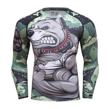 Bulldog Rash Guard
