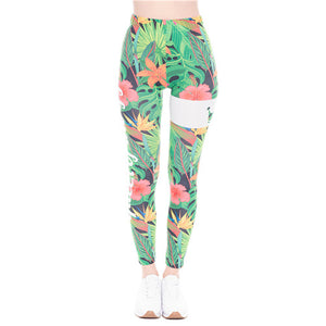 Floral Spring Leggings | High Waisted Spats