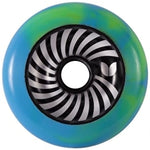 Blazer Pro Vertigo Swirl Wheel 100mm - Blue Green