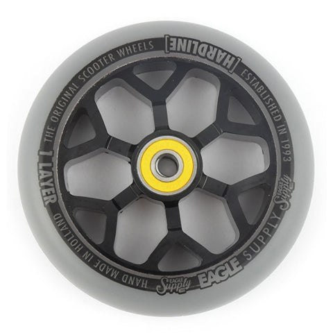 Eagle 110mm Hardline 1-Layer 6M Wheel - Grey/Black