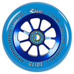 River Glide Pro Scooter Wheel 110mm - Blue/Blue