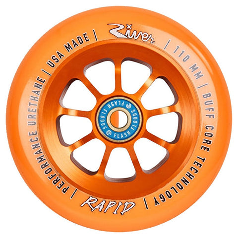 River Rapids Pro Scooter Wheel 110mm - Orange/Orange
