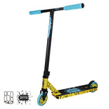 Ride 858 Backie Complete Scooter - Gold Blue
