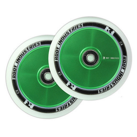 Root Industries 110mm Air Wheel - White Green