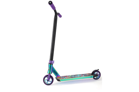 Sacrifice Flyte 100 Scooter - Neochrome / Purple / Graffiti