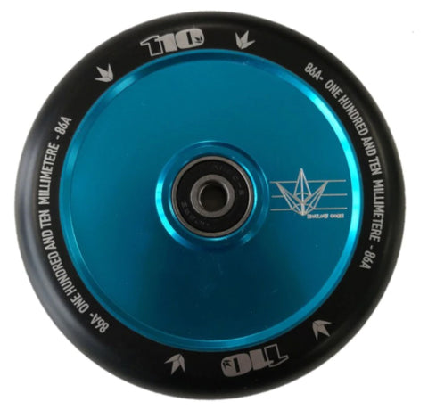Blunt 110mm Hollow Core Wheels - Teal