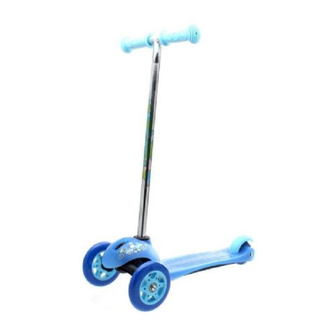 California Pro Trail Twister Advanced Kids Tricycle Scooter Blue