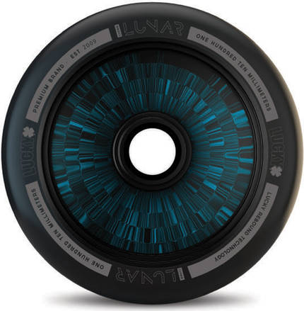 Lucky Lunar Hollow Core Wheel Black Blue