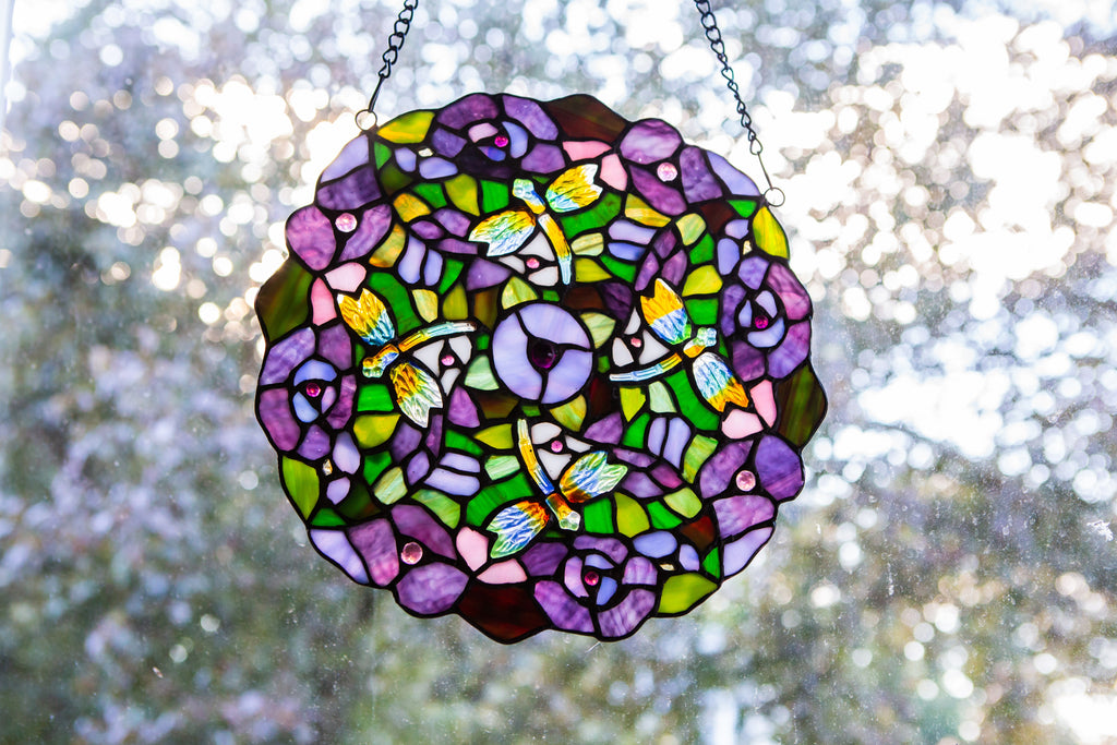 Send a Stained Glass Symbol of Strength