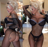 Sparkle bodystocking