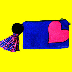 """All My Love"" Wayuu Heart Clutch"
