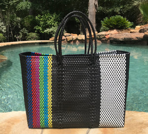 Recycled plastic Mexican Tote bag