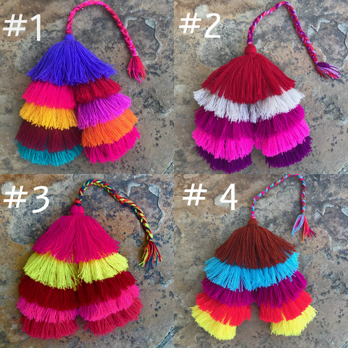 Double Cascada Tassels-SOLD OUT