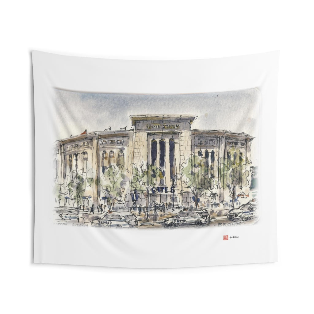 NYC 2019 - Yankee Stadium - Wall Tapestry