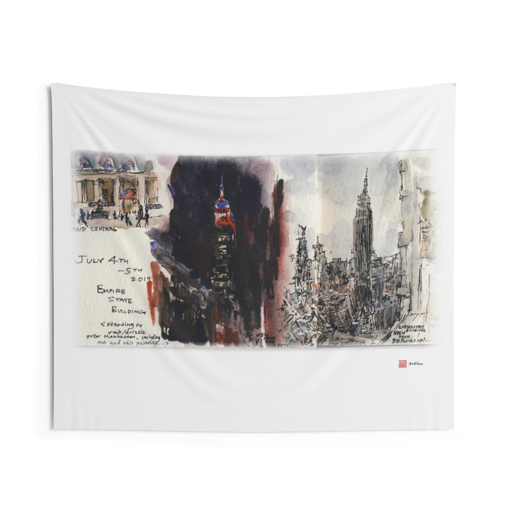 NYC - Empire State Building - Wall Tapestry
