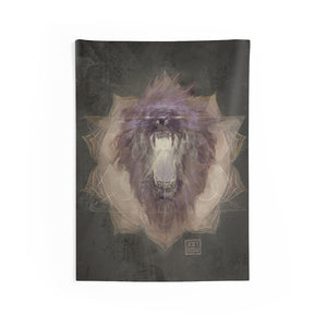 Lion's Gate Portal - Wall Tapestry