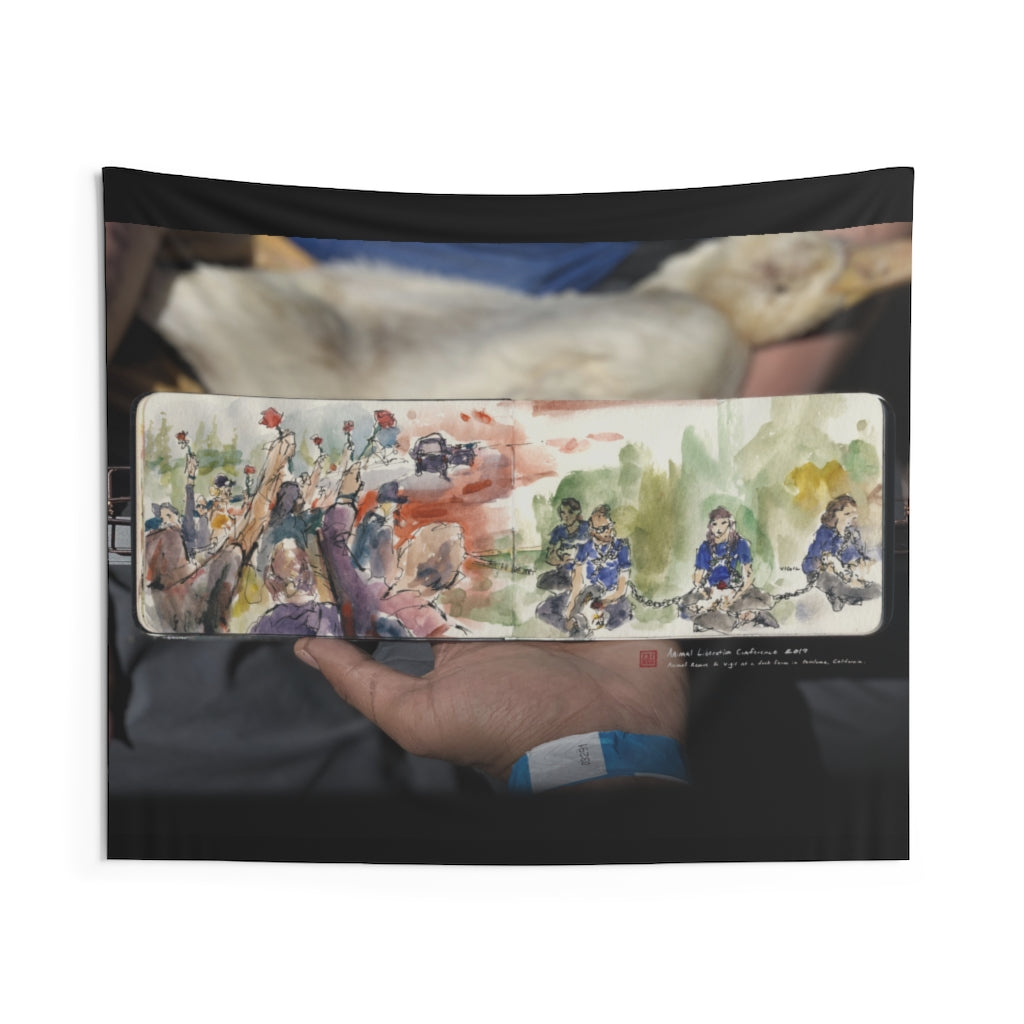 ALC 2019 - Animal Rescue & Vigil - Wall Tapestry