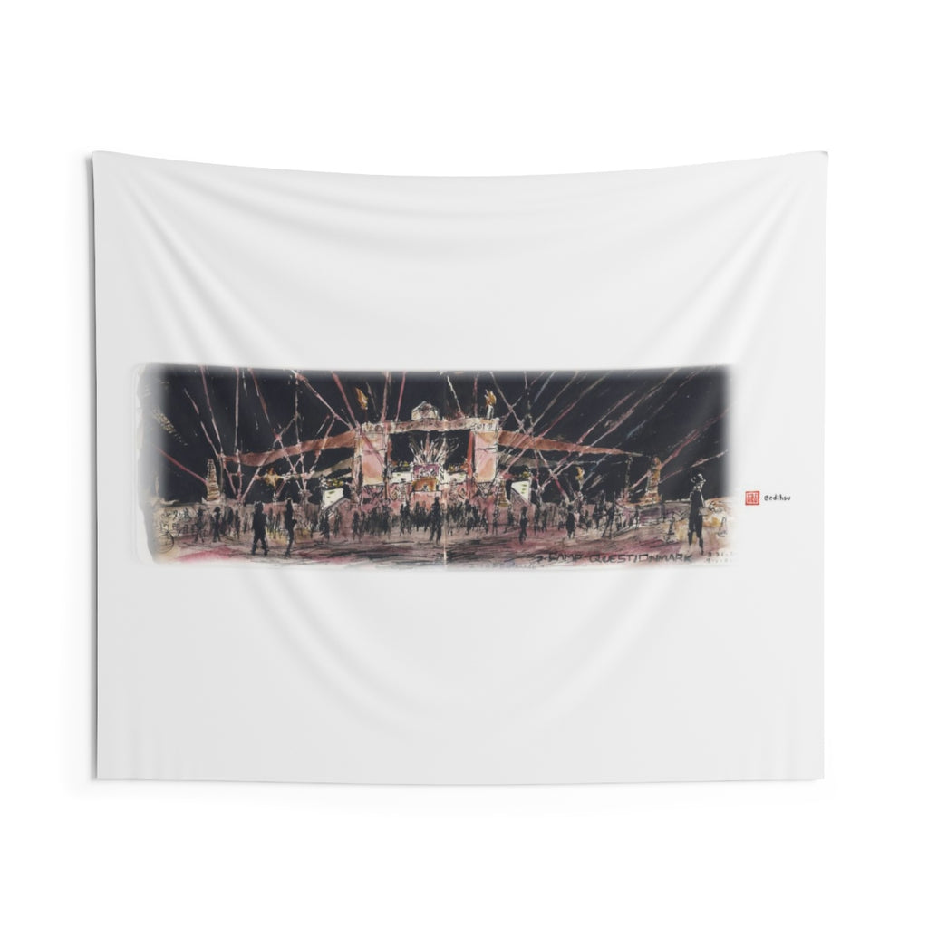Camp Questionmark at BM 2019 - Wall Tapestry