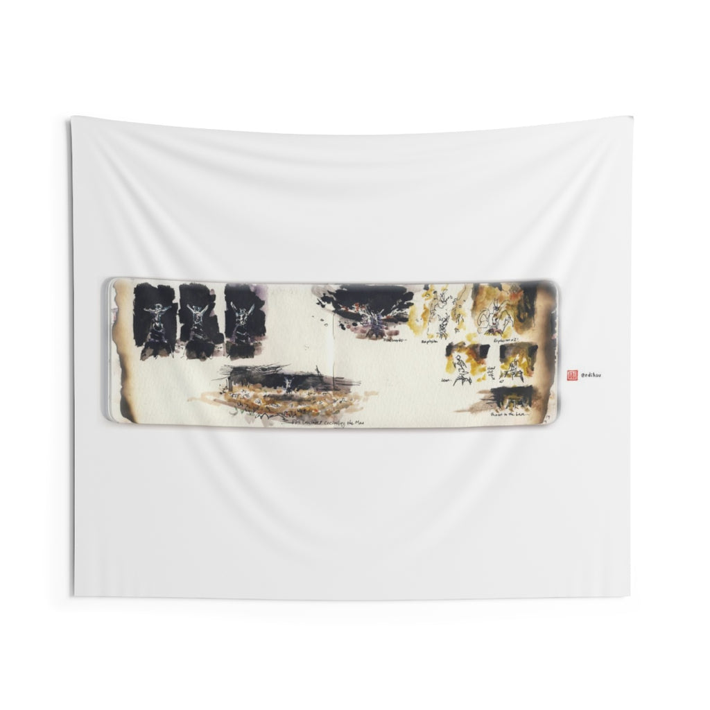 BM 2019 - Man Burn - Wall Tapestry