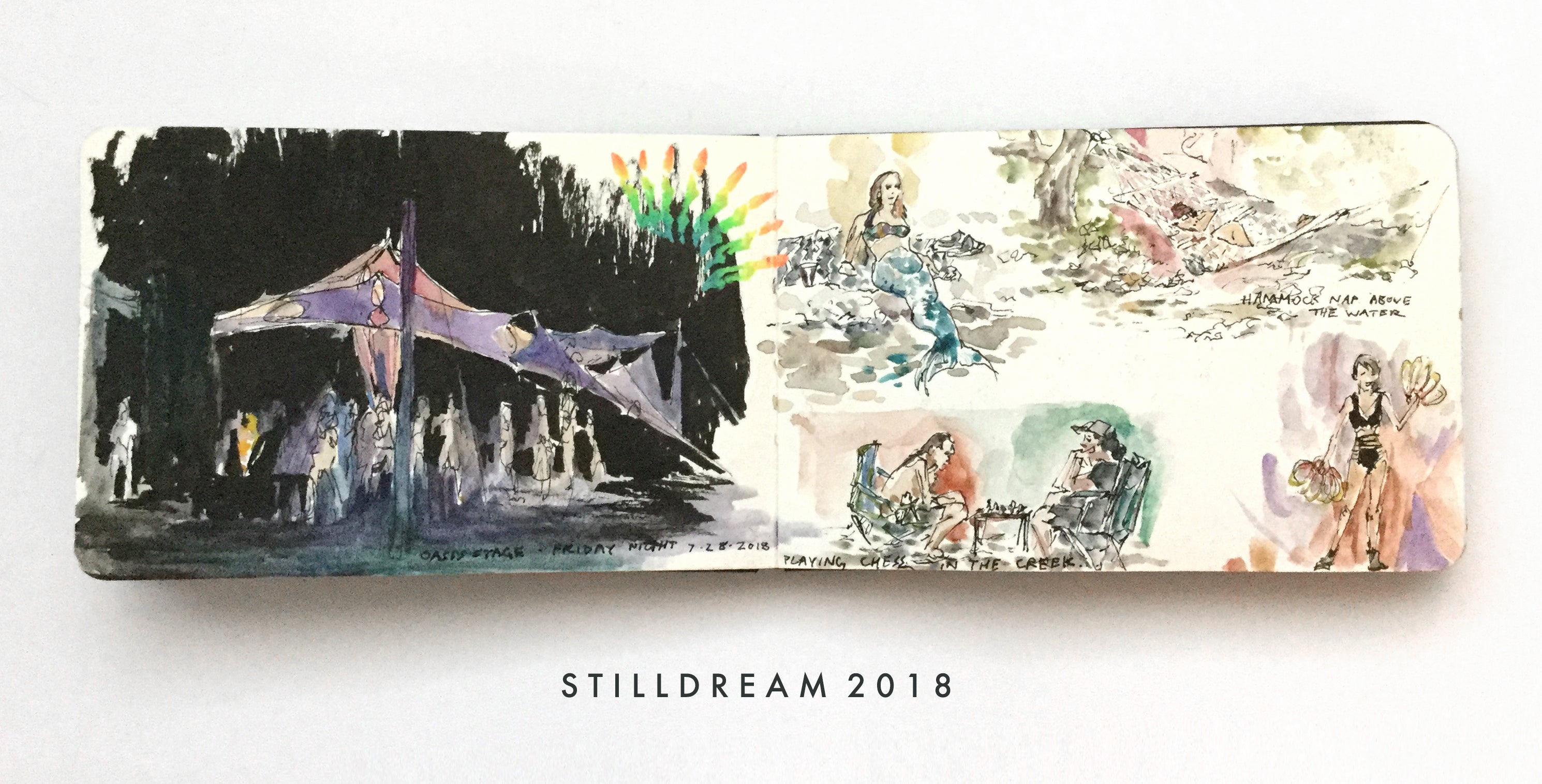 Soul Journal - Summer Festivals 2018 - Stilldream 2018 - PREORDER