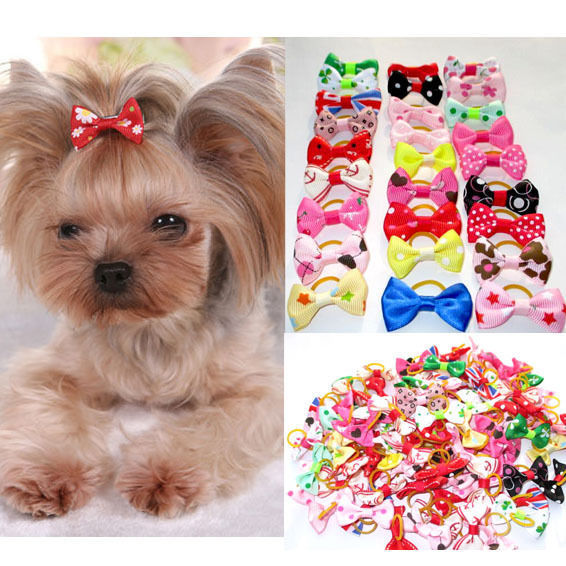 20 Piece Assorted Yorkie Hair Bows Yorkie Pup Shop