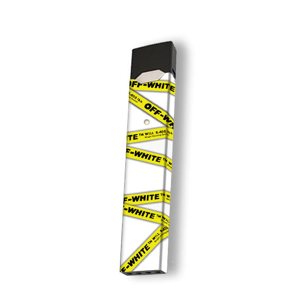 Off White Tape - Juul Skin