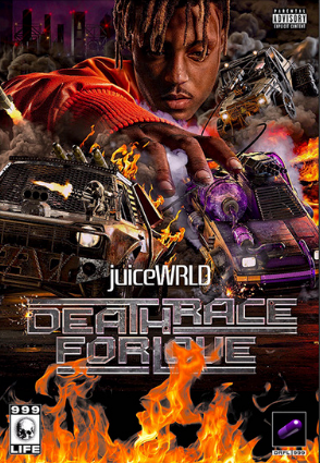 Juice WRLD Death Race for Love - Poster