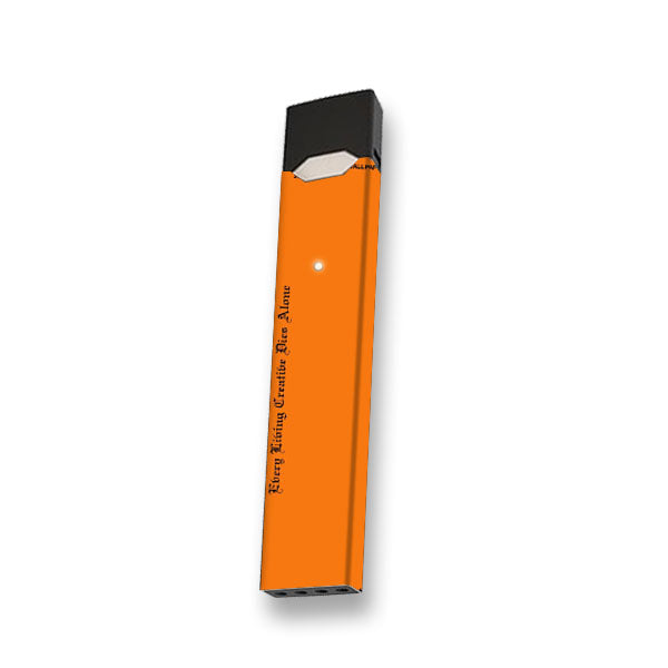 Off White Custom Orange - Juul Skin
