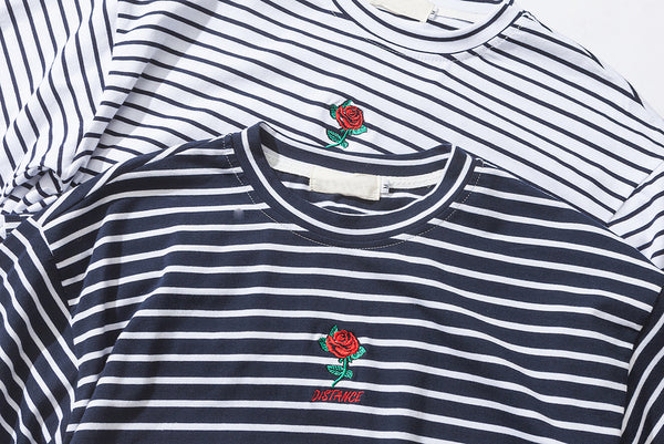 Distance Rose Embroidered - Tee