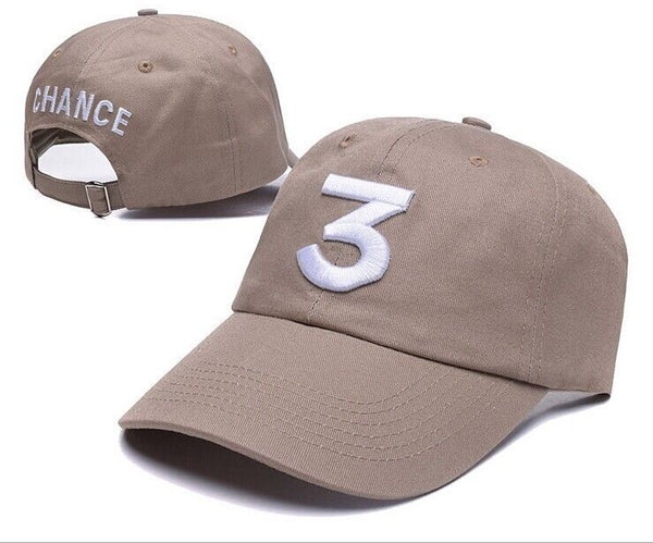 Chance The Rapper 3 Adjustable Strapback Baseball Cap