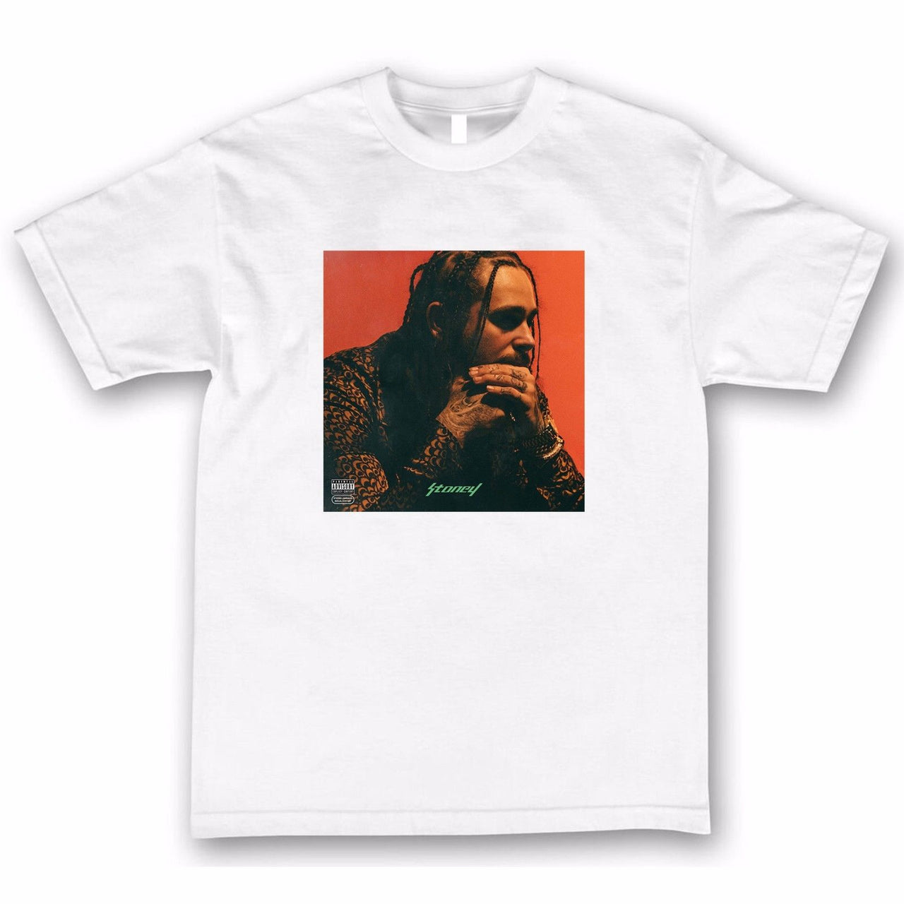 Post Malone Stoney Inspired - Tee