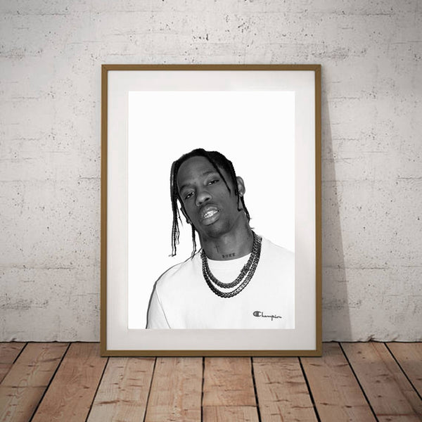Travis Scott x Champion - Poster