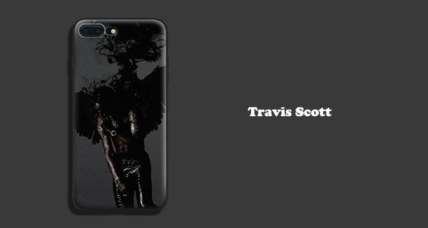 Travis Scott Dark Wings - iPhone Case