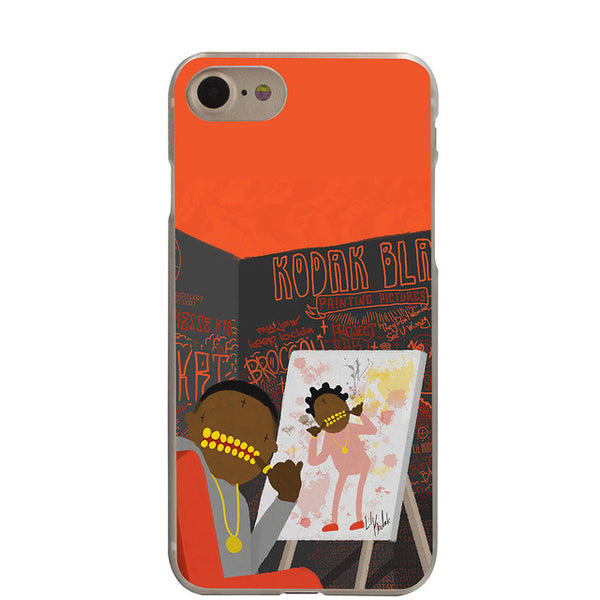 Kodak Black Painting Pictures - iPhone Case