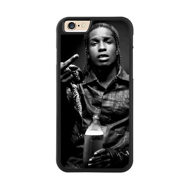 ASAP Rocky Black and White - iPhone Case