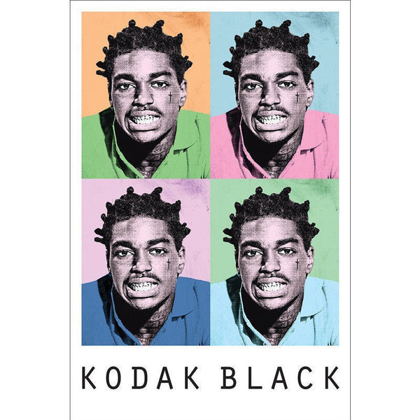 Kodak Black Iconic - Poster