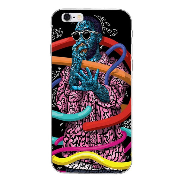 Mac Miller Abstract - Phone Case