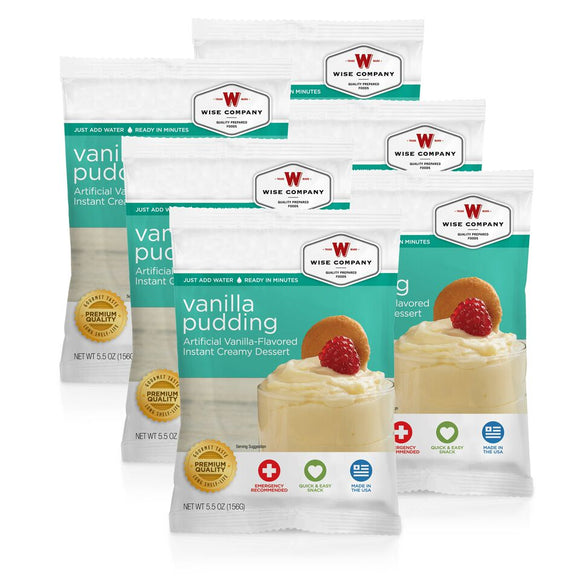 NEW Vanilla Pudding - 6 PACK