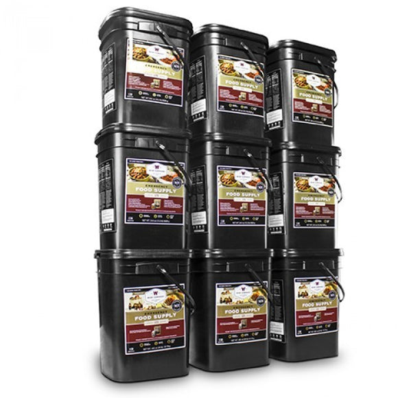 1080 Servings Wise Emergency Food Storage