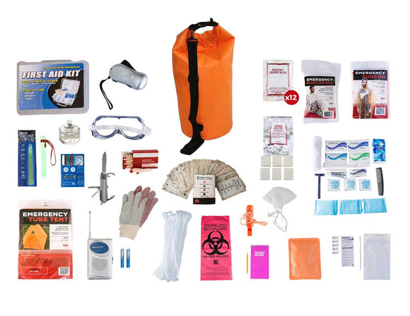 1 Person Elite Survival Kit Dry Bag