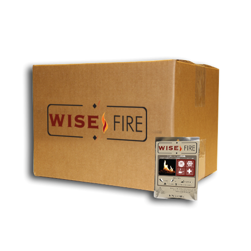 15 Individual Wise Fire Starter Pouches
