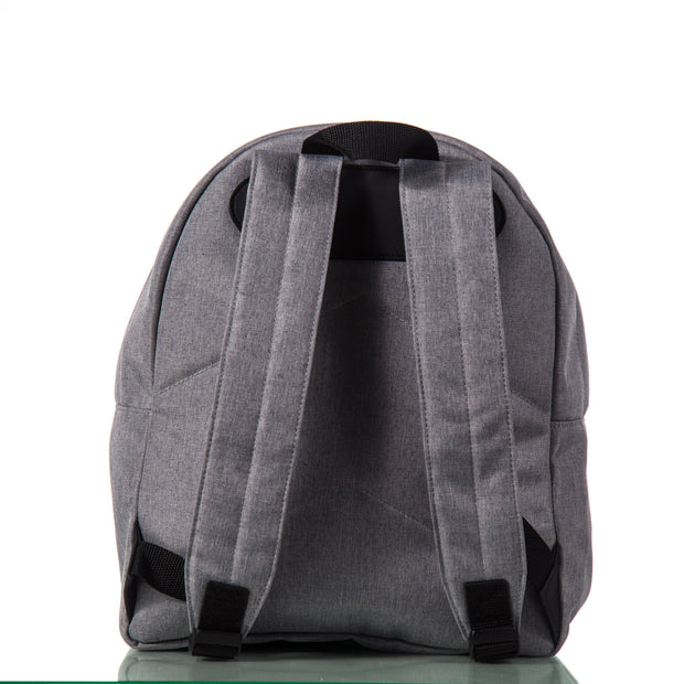 Toddler Backpack - Grey & Black