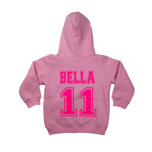 Junior & Ladies Personalised College Hoodie
